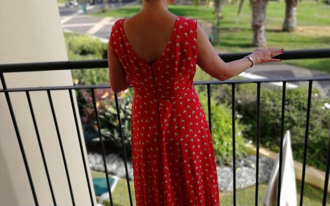 French Poetry Lune Maxi Dress